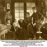 Seated: Susie Jane (Wilson) Williams (1859-1956), Gertrude Orabelle Williams (1916-1996),